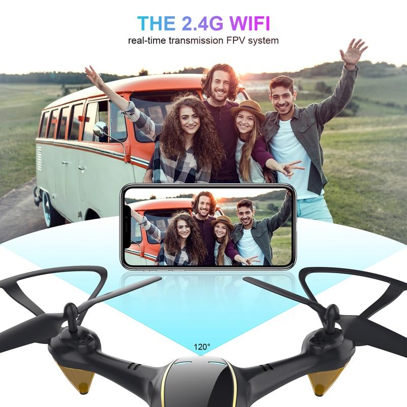 Eachine E38 WiFi FPV RC Drone 4K Camera Optical Flow 1080P HD Dual Camera Aerial Video RC Quadcopter Aircraft Quadrocopter Toys 2