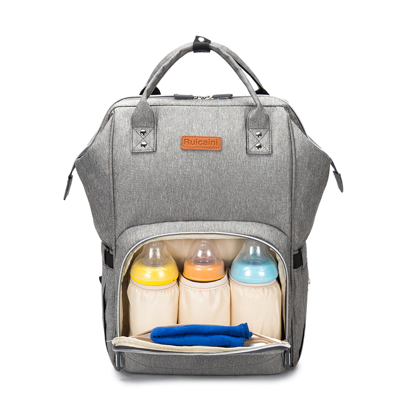 with USB Interface Diaper Bag Baby Bags Waterproof Maternity Backpack Bag for Mother Nursing Nappy Bags Large Mommy Bag