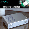 KYYSLB 220 В 50 Вт * 2 SK3875 усилитель с US ESS9023 USB декодирование DAC HIFI усилитель 2 канала 4-16 евро LM1875 LM3886 LM7293