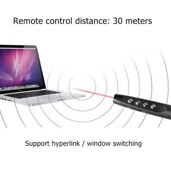 Rf 2.4G Wireless Ppt Presenter Slide Advancer Flip Pen Pointer Powerpoint Presentation Clicker Remote Control mi laser canetas