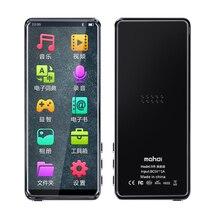 Bluetooth 5.0 MP3 אופנה 3.5 אינץ מגע מסך נייד נגן מוסיקה ספורט MP3 תמיכה רב לשוני רדיו FM 128G TF אוזניות