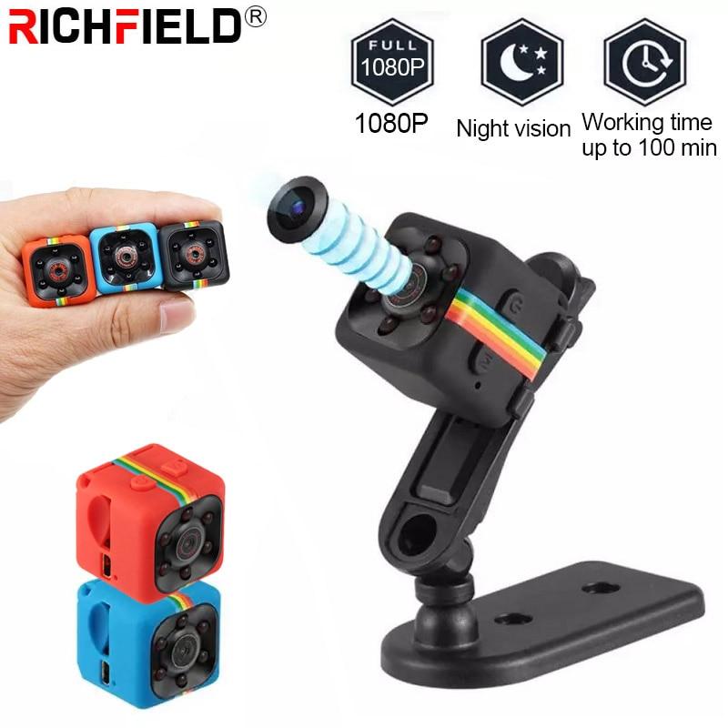 Mini Camera 4K HD Video DV 1080P Night Vision Waterproof Shell Recorder Camcorder Home Outdoor Monitor Motion Detection DVR SQ11