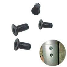 4 Uds manillar Polo tornillos Original pernos de acero inoxidable para Ninebot Segway ES2 ES ES4 eléctrico accesorios para Scooter