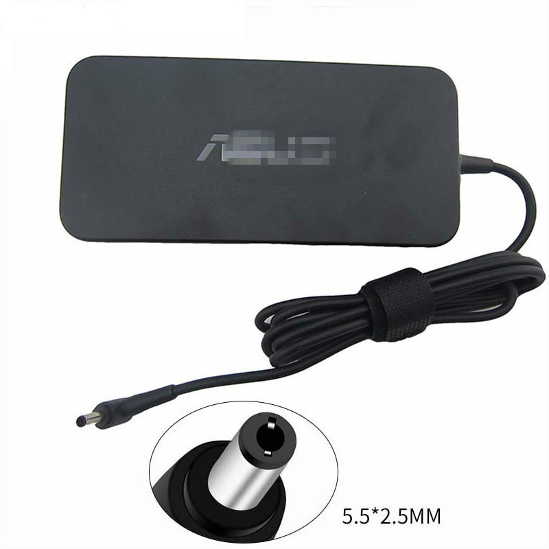 New <font><b>19V</b></font> <font><b>6.32A</b></font> 120W Laptop Adapter A15-120P1A PA-1121-28 AC Power <font><b>Charger</b></font> for <font><b>Asus</b></font> FX504 UX510UW N56J N56VM N56VZ N750 Laptop image