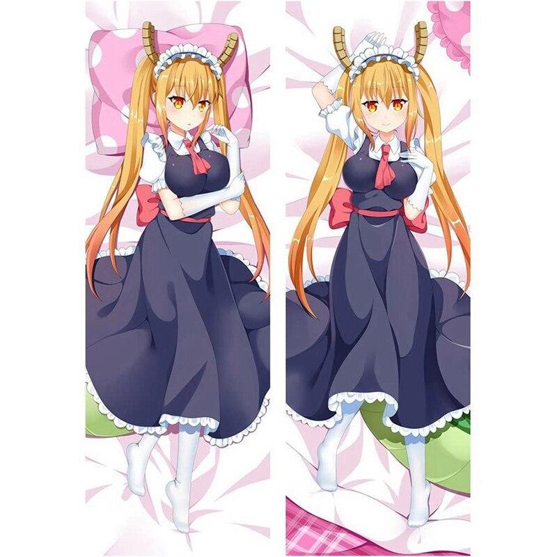Горячая Распродажа! Японское аниме Miss Kobayashi's Dragon Maid Kanna Kamui Tohru обнимающее тело