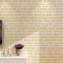 10 м x 053 Ретро стиль кирпич нетканые обои для спальни гостиной