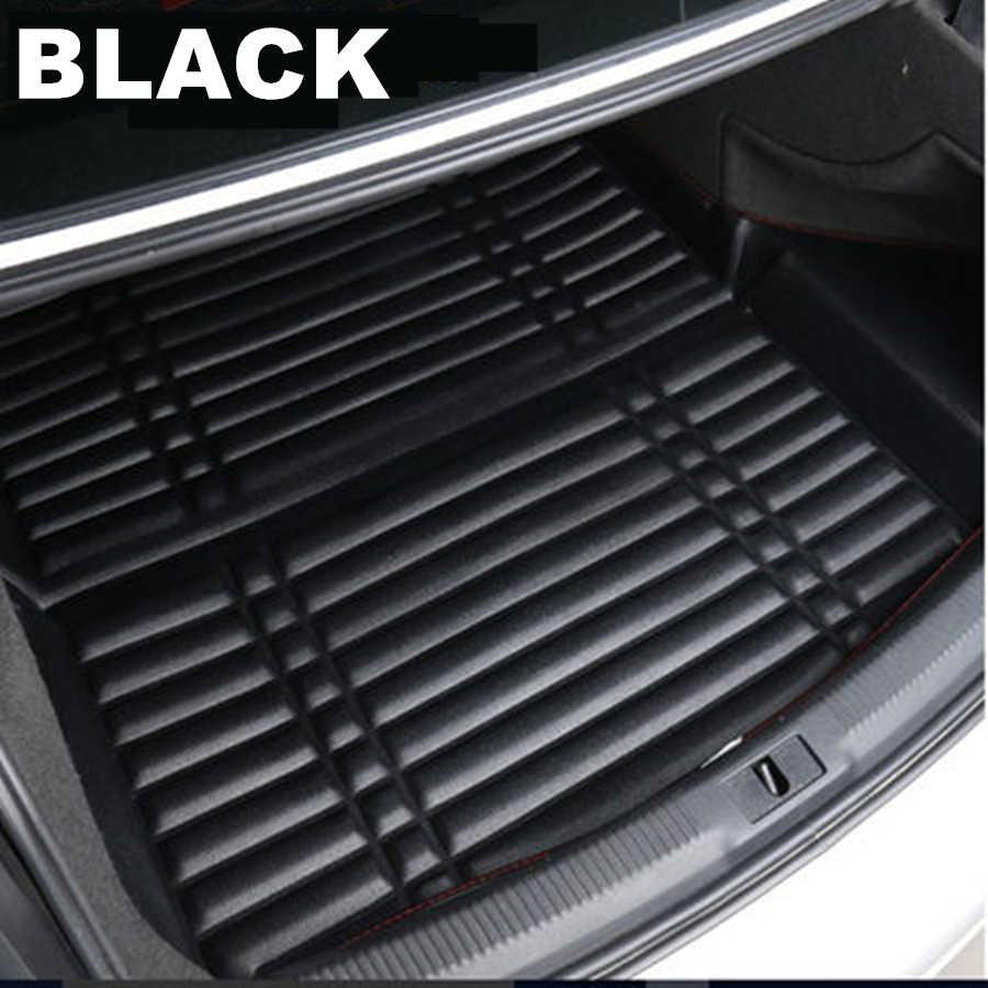 SJ 3D étanche voiture coffre arrière tapis de démarrage Liner Cargo plancher plateau tapis protecteur pour Volkswagen VW Tiguan 2009 2010-2019