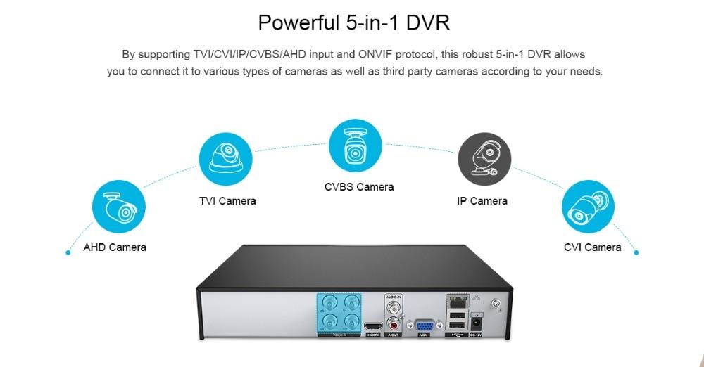 Sannce 4ch 1080 p cctv sistema 1080n