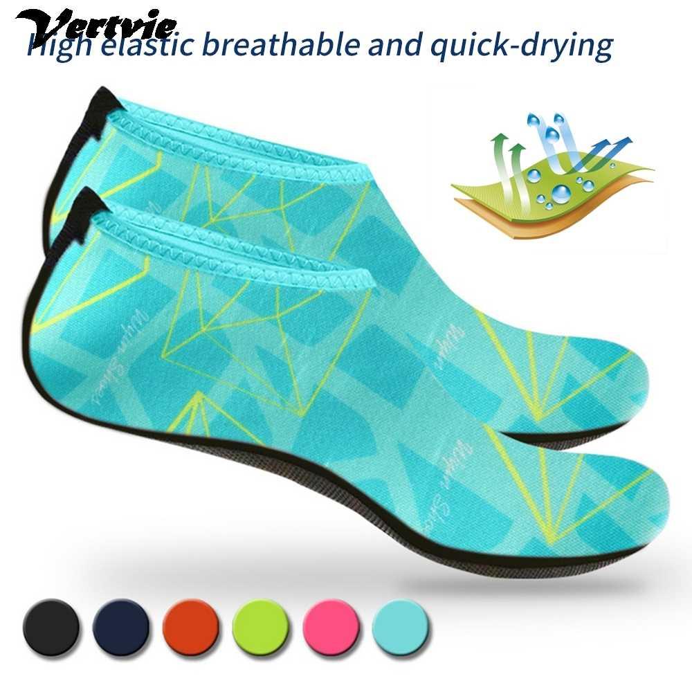 新しいスニーカー水泳速乾性水泳ウォータービーチ靴ロットベビーフットウェア素足軽量アクア子供のための男性女性