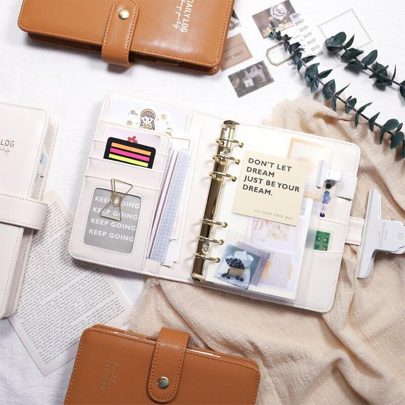 MyPretties Daily Log Binder Organizer Notebook a5 a6 Planner Agenda Journal DIY Retro Organizer School Stationery