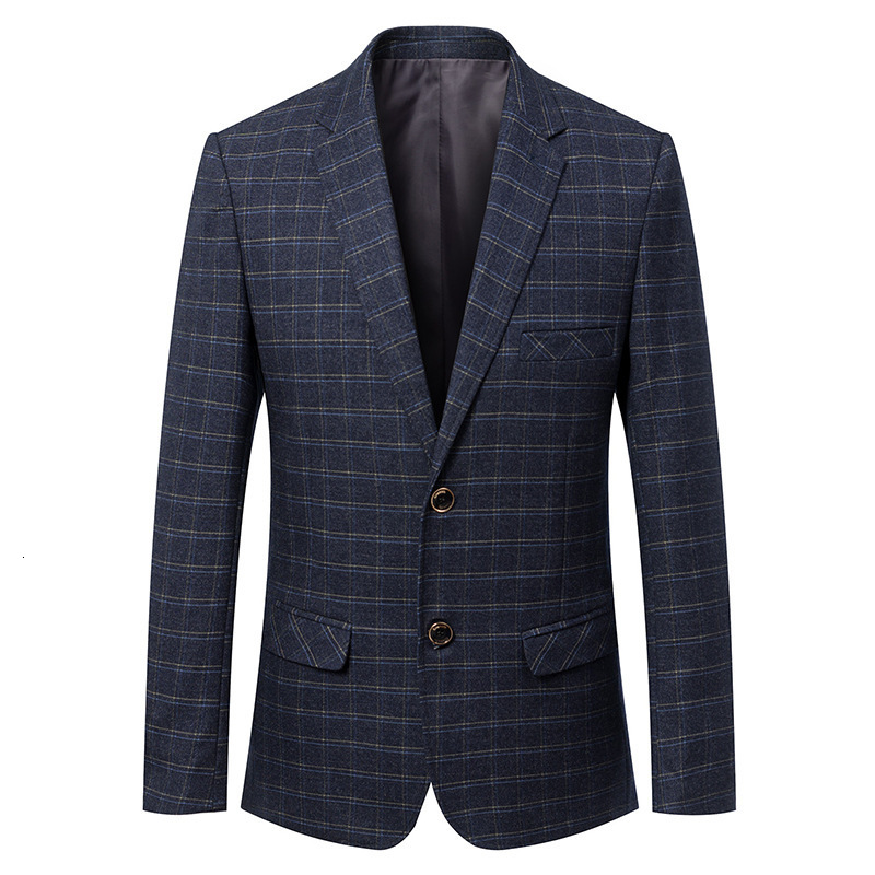 Гладкие лезвия Мужчины носить броню тела и Тонкий Блейзер Куртка для двух человек двери весной - 6