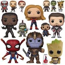 цена на Marvel Superheroes Avengers Doll Toys Collections Doctor Strange Spiderman Iron Man Hulk Thor Thanos Figure Action
