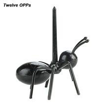 Party Series Ant Toothpick Hardworking Horse Fruit Fork Plastic Lunch Sign Mobile Dessert