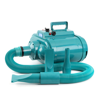 H1 Blue Dolphin High Power Large Double Motor Dog Hair Dryer Blowing Machine Pet Water Golden Retriever dryer