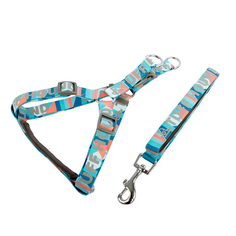 Pet's Chest-back Triangular Suspender Strap Dog Hand Holding Rope Vest Large Dog Rope Medium Small Dogs Supplies Set
