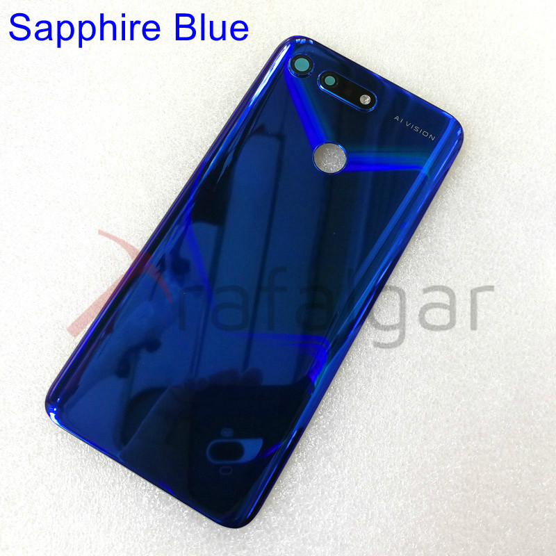 Image 5 - For Huawei Honor V20 View 20 Battery Cover Back Glass Rear Door Window Housing Case For Honor View 20 Back Glass Panel PCT L29Mobile Phone Housings & Frames   -