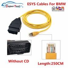 ESYS кабель для передачи данных для BWM f-серия ICOM кабель ENET ESYS кабеля кодрирования для BMW программирования E-SYS ICOM кодирования Скрытая ENET средств...