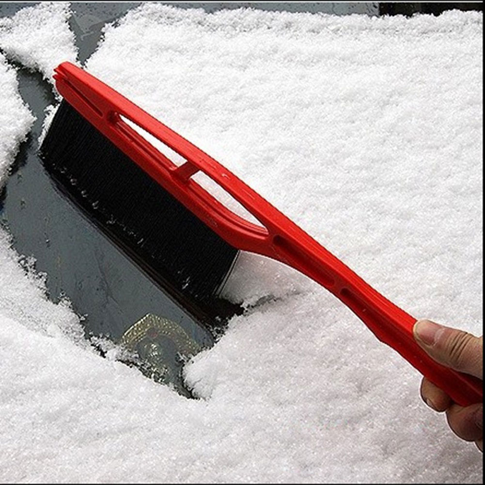 dropshipping Car Vehicle Durable Snow Ice Scraper Snow Brush Shovel Removal For Winter OE88 image