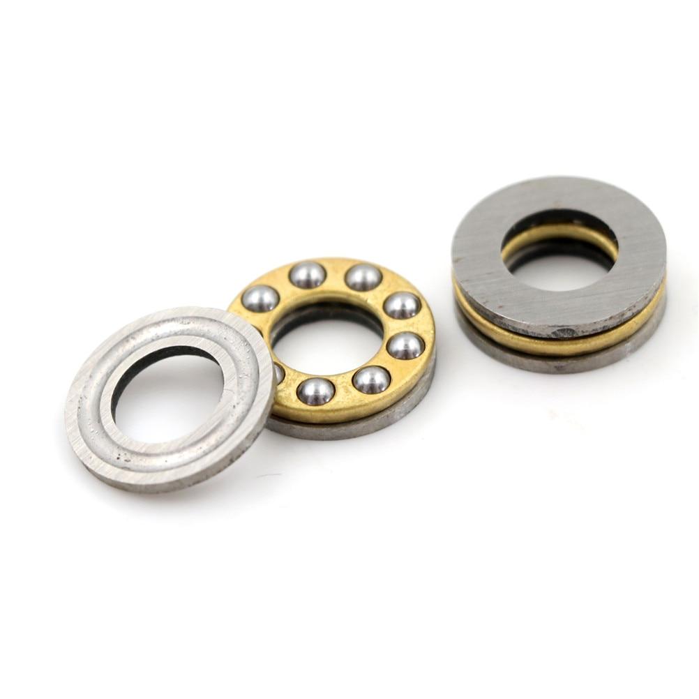 10pcs F8-16M Metal Axial Ball Bearing Set Pratical Miniature Thrust Bearings 8x16x5mm For Hardware Accessories High Quality