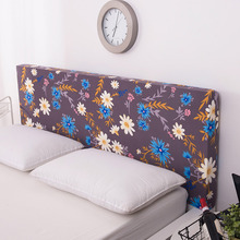 Bedside Cover Fully Covered Four Seasons Easy Cleaning Knitted Elastic Fabric Bedspread Mattress topper