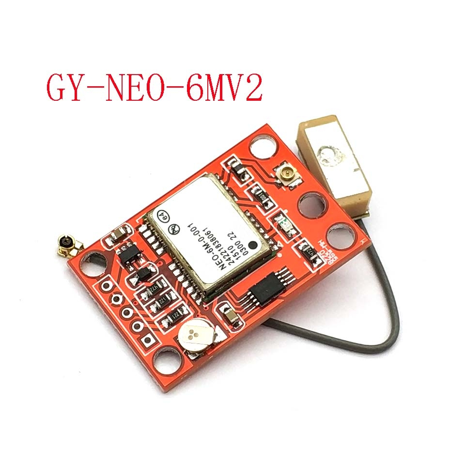 GY-NEO6MV2 New NEO-6M GPS Module NEO6MV2 With Flight Control EEPROM MWC APM2.5 Large Antenna For Uno