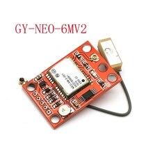 GY NEO6MV2 novo NEO 6M módulo gps neo6mv2 com controle de vôo eeprom mwc apm2.5 grande antena para uno