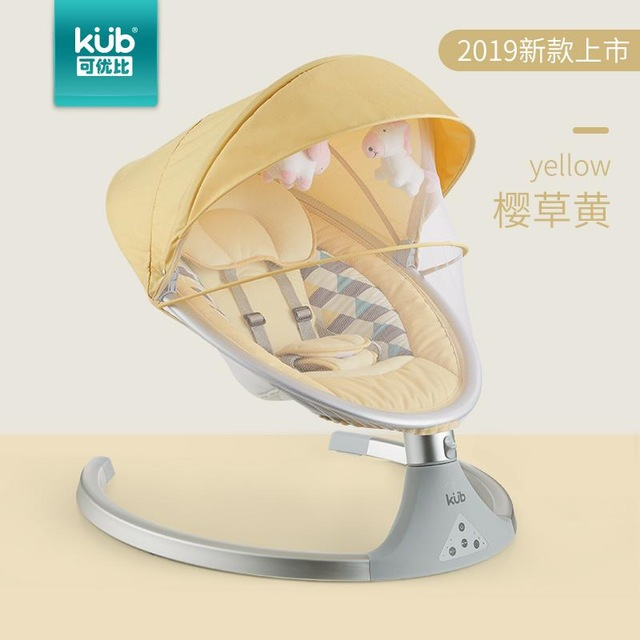 Fast Shipping! Baby Electric Rocking Chair Electric Rocking Chair Multi-function Sleepy Newborn Comfort Chair Shaker