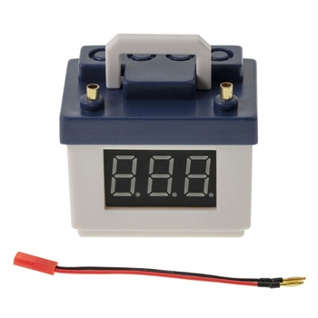 Simulation Battery Lithium Battery LiPo Low Voltage Alarm for 1/8 1/10 RC Car 40JC 2pcs 1pcs bx100 1 8s lipo battery voltage tester low voltage buzzer alarm battery voltage checker with dual speakers