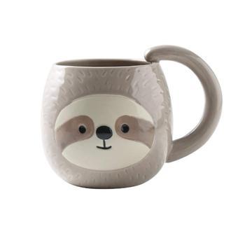 Sloth Ceramic 400ML Coffee Mug,Novelty Coffee Tea Milk Christmas Mug, Gift for Women, Girls, Kids Sloth Lover Hot Cocoa Gift 1