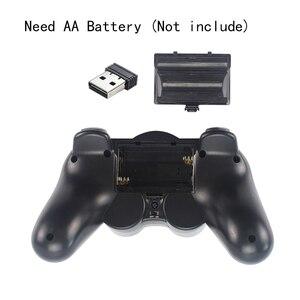 Image 5 - 2,4G Wireless Game Controller Joystick Gamepad Mit USB Konverter Adapter Für Android TV Box Für PC PS3 Raspberry Pi 4B 3B 3B +