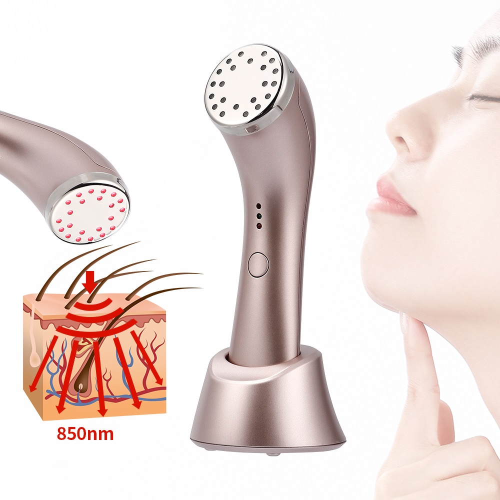 Anti Aging Infrared Heating Led Light Photon Therapy Collagen Stimulation Wrinkle Remover Skin Firm Tightening Beauty Massage