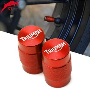 For TRIUMPH DAYTONA 675/675 R SPEED TRIPLE 1050/1050 R STREET TRIPLE R TIGER 800 Wheel Tire Valve Stem Caps Airtight Covers(China)