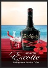 Tia maria jamaicano metal sinal bar pub homem caverna retro bebida galpão de álcool garagem