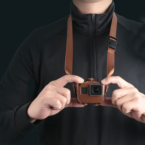 Image 1 - Schutzhülle für Gopro Hero 7 6 Black Edition PU Leder Tasche Fall Schutz für Go Pro Hero 7 6 5 Action Kamera Zubehör