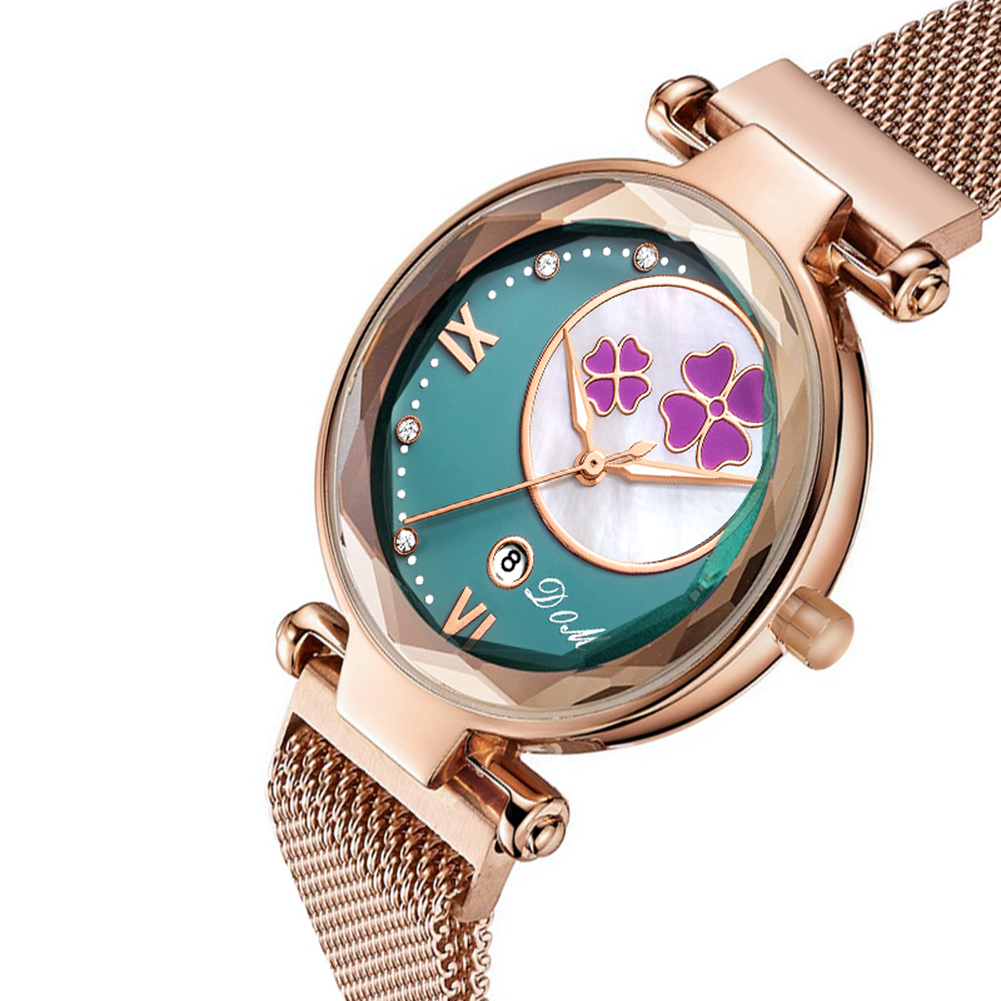 Permalink to DOM Watch Women Watches Flower ladies Wrist watch fashion Luxury famous brand Gold Female clock Magnetic Buckle relogio feminino