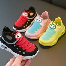 Обувь для девочек; обувь для тенниса; кроссовки для мальчиков в форме гусениц c технологией Flyknit кроссовки носочки для детей, детей ясельного возраста; женская обувь; Zapato; Повседневное sandq детский