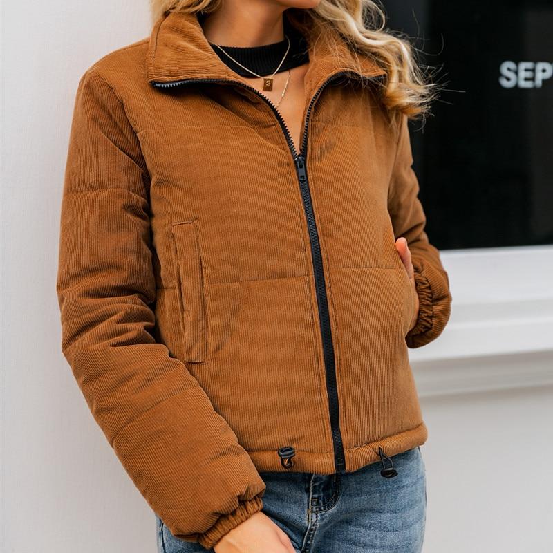 Casual Thick Parka Overcoat Winter Warm Fashion Outerwear Coats Street Wear Jacket coat female 23
