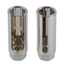 2Pcs Universal 22Mm Car Oxygen Sensor 1/2 inch Drive Socket Wrench Removal Installation Tool Special Tools For Repairing
