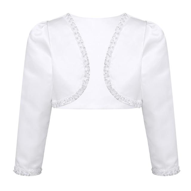 Lady Lace Cardigan Shrug Bolero Cape Capelet Coat Short Sleeve Top 6N