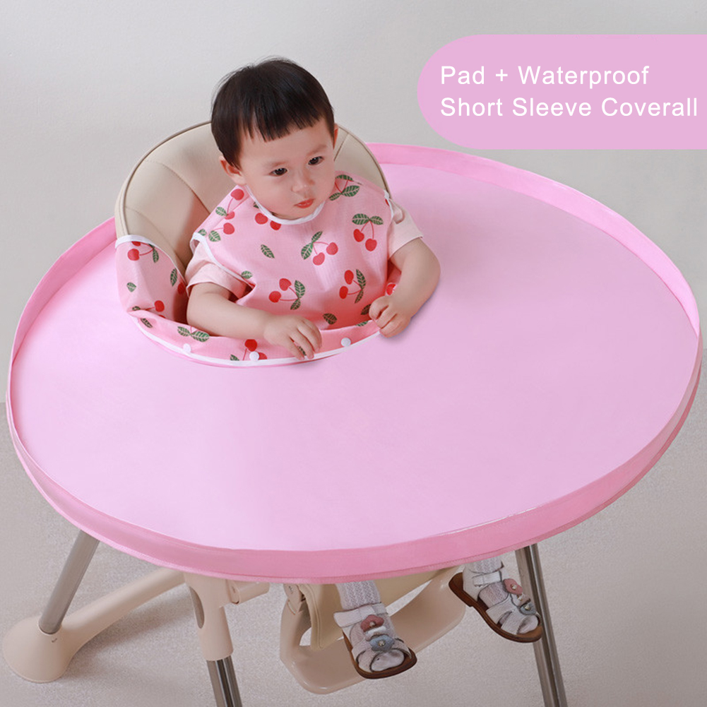 Baby Dinner Mat Cover Napkin Waterproof Highchair Bumper Anti-dirty Pad Meal Tray Baby Seat Cushion Polyester Easy To Assemble