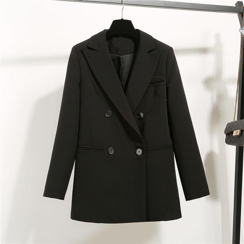 2020 New Fashion Suit Women's Jacket Loose Casual Black Women's Blazer Slim Wild Coat Female Suit Leisure Women's Clothing