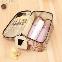 Outdoor Girl Makeup Bag Women Letter Cosmetic Bag Wash Toiletry Make Up Organizer Storage Travel Kit Bag Multi Pocket Ladies Bag