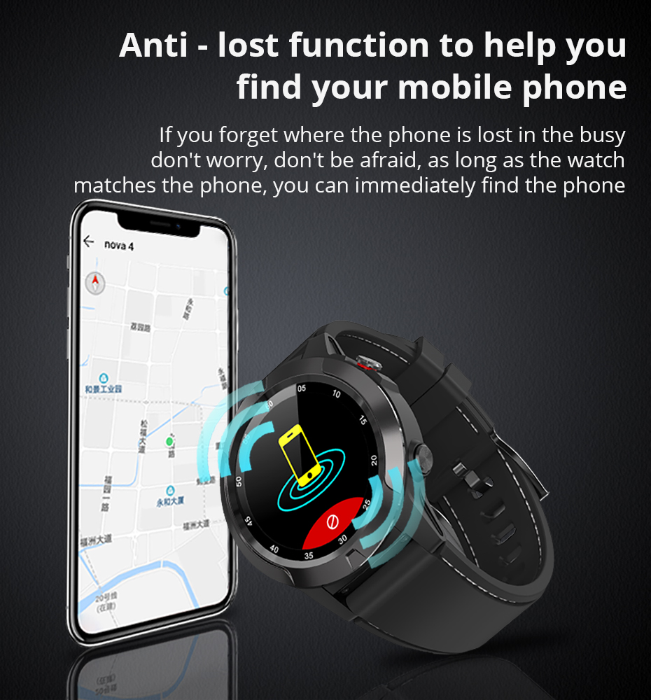 Makibes G58 Smart watch Compass Multi-language GPS Men Sport Heart Rate Monitor Call Message Reminder Activity Fitness trackerG58_08