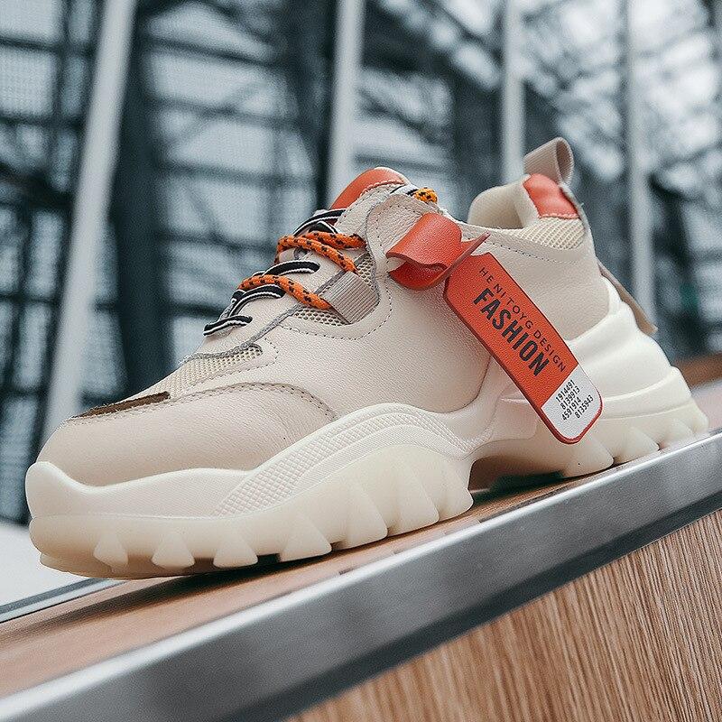 DONGNANFENG/женские кроссовки из натуральной кожи; Спортивная дышащая обувь из вулканизированной кожи в Корейском стиле; XML-1807