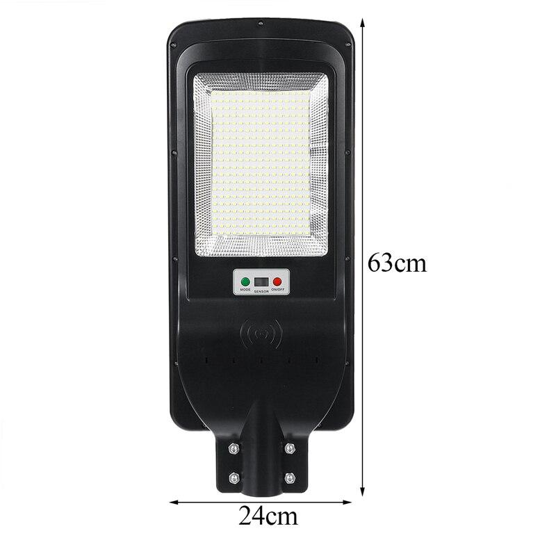 100W 300 LED Solar Licht mit Timing Fernbedienung 5730smd Radar Sensor Outdoor Solar Beleuchtung Wasserdichte IP65 für Garten hof - 4