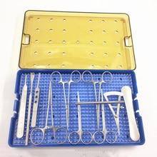 Double eyelid surgery instrument scissors Needle holder Hemostatic forceps Cosmetic plastic tool