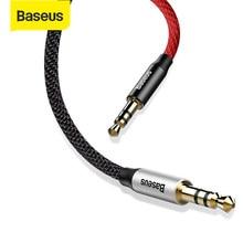 Baseus-conector macho a macho de 3,5mm, Cable auxiliar de Audio para iPhone, Xiaomi, altavoz, Línea alámbrica, teléfono, Radio, coche, MP3