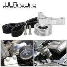 Wlr-регулируемый шкив EP3 комплект для Honda 8th 9th Civic все двигатели K20 и K24 с автоматическим Натяжителем держать A/C установлен WLR-CPY01