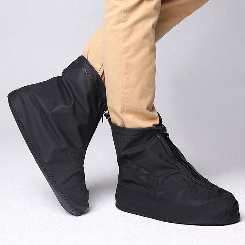 Men Women Elastic Protectors Shoe Cover Rain Boots Travel Non Slip Accessories Reusable Outdoor Thickening Foot Wear Waterproof