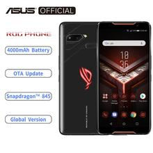 ASUS ROG telefon ZS600KL küresel sürüm Smartphone 8GB RAM 128/512 ROM Snapdragon™845 NFC Android 8.1 OTA güncelleme 4000mAh